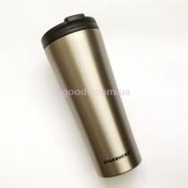 Термокружка Starbucks Silver стальная