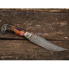 Нож ручной работы Гремучая змея