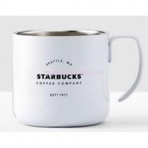 Металлическая кружка Starbucks Camp White 355 мл