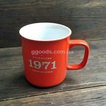Чашка Starbucks Orange 1971