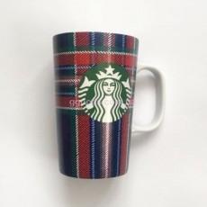 Керамическая кружка Starbucks Plaid
