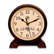 Деревянные настольные часы Орех 1