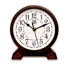 Деревянные настольные часы Орех 4