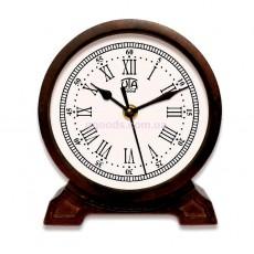 Деревянные настольные часы Орех 5