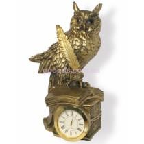 Настольные часы Сова с пером