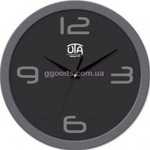 Настенные часы Сhic, серый обод