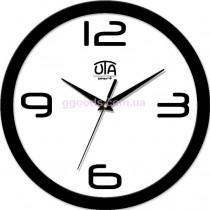Настенные часы Trendy, черный обод