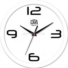 Настенные часы Trendy, белый обод
