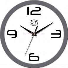 Настенные часы Trendy, серый обод