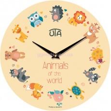 """Детские часы """"Animals of the world"""""""