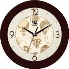 Круглые настенные часы Шарики