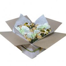 """Букет из конфет """"Новогодняя коробка"""""""