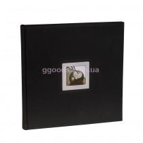 Фотоальбом Walther Black&White 50 страниц черного цвета