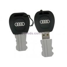 Флешка Audi ключ резиновая брелок
