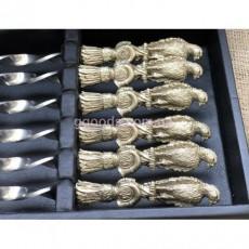 Подарочный набор шампуров в кейсе Птицы