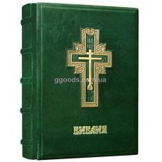"Библия ""Cross"" зеленая"