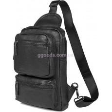 Сумка через плечо рюкзак Барт черный