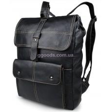 Рюкзак мужской кожаный Бром черный