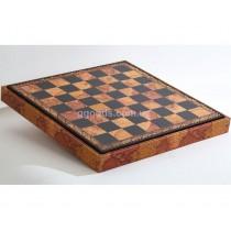 Шахматная доска Старинная Карта (35*35 см)