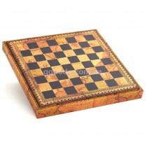 Шахматная доска Старинная Карта (48*48 см)