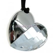 Флешка Сердце кристалл