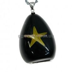 Флешка Звезда морская черный фон