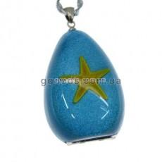 Флешка Морская звезда голубой фон