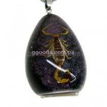 Флешка Скорпион фиолетовый