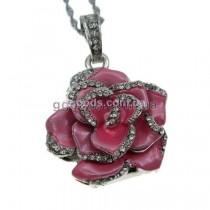 Флешка Роза розовая