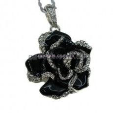 Флешка Роза черная