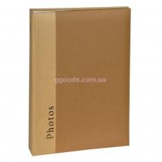 Однотонный фотоальбом Henzo Chapter коричневый