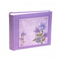 Фотоальбом Flower Violet 200 фото 10 на 15