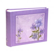 Фотоальбом Flower Violet 100 фото 10 на 15