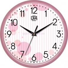 "Настенные часы ""Розовые круги"""