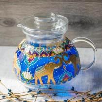 Чайник для заваривания чая Слоны 1500 мл
