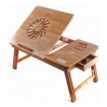 Бамбуковый столик для ноутбука T25