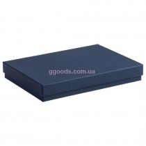 Коробка для ежедневника А5 подарочная синяя