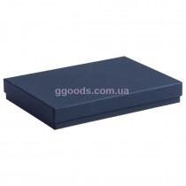 Подарочная коробка для ежедневника А4 синяя
