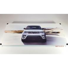 Нарды Range rover белые