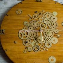 Настенные часы Лофт Золотистые