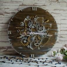 Часы в стиле Лофт песок