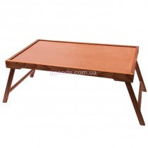 Деревянный столик для завтрака Груша