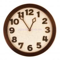 Настенные часы Terra орех