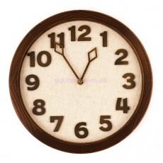 "Настенные часы ""Terra"", орех"