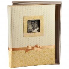 Фотоальбом свадебный Silvia с кремовыми страницами (60 стр.)