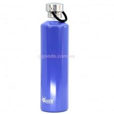 Бутылка для воды 1 литр синяя Cheeki