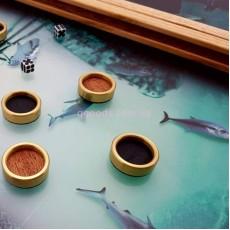 Нарды с рыбками интерактивные