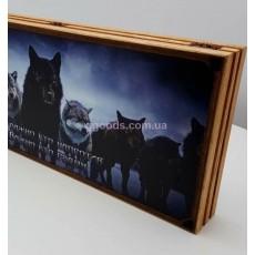 Нарды с волками интерактивные