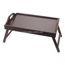 Столик для завтрака с ручками Шоколад