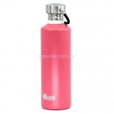 Бутылка для воды 750 мл розовая Cheeki